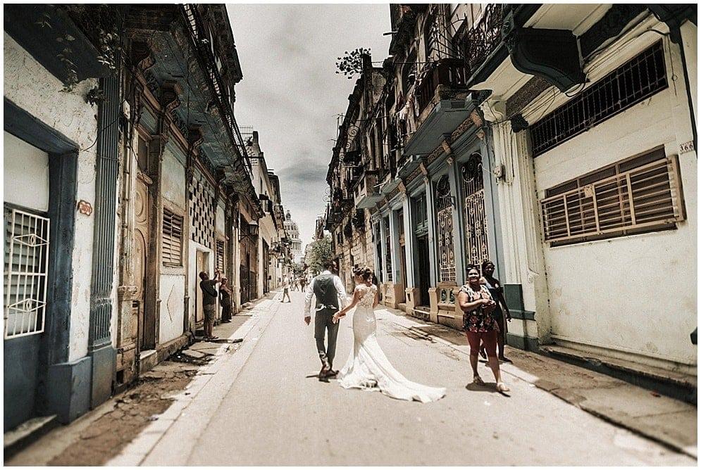 La boda de Lucía y Jorge con final en La Habana