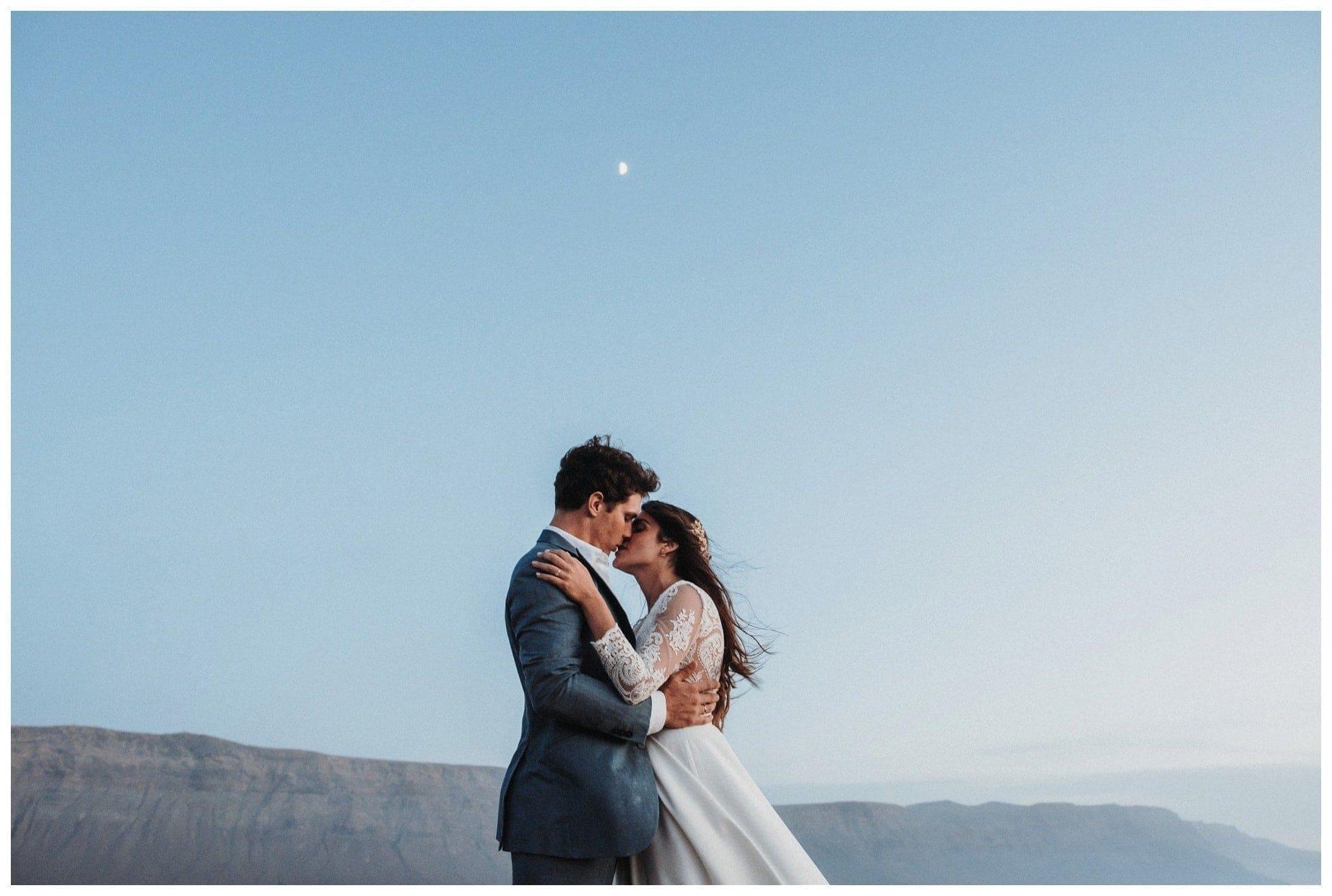 La boda en La Graciosa de Mónica y Álvaro